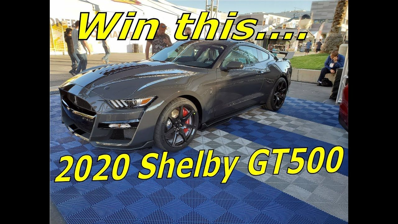 Win A 2020 Shelby Gt500 Mustang Jdrf Raffle 11 14 19 Sema Show 2019 Tick Shelby Gt500 Gt500 New Mustang