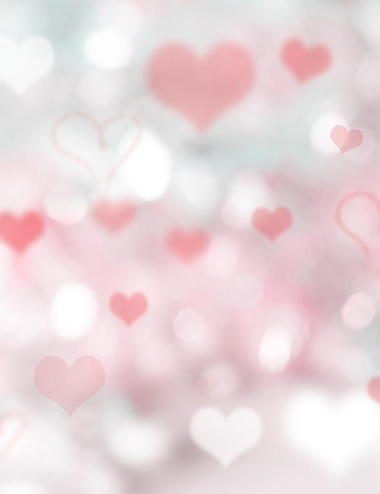 Bokeh Silver And Red Hearts For Valentines Day Photography Backdrop Valentines Day Background Valentine Photo Backdrop Valentine Photo