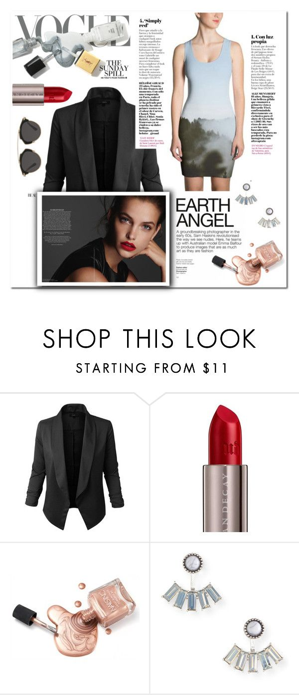 """Earth Angel: gray shades"" by alexispengu ❤ liked on Polyvore featuring Jupe de Abby, Urban Decay, Aéropostale, Christian Dior, trend, vogue, polyversary, contestentry and 2017"