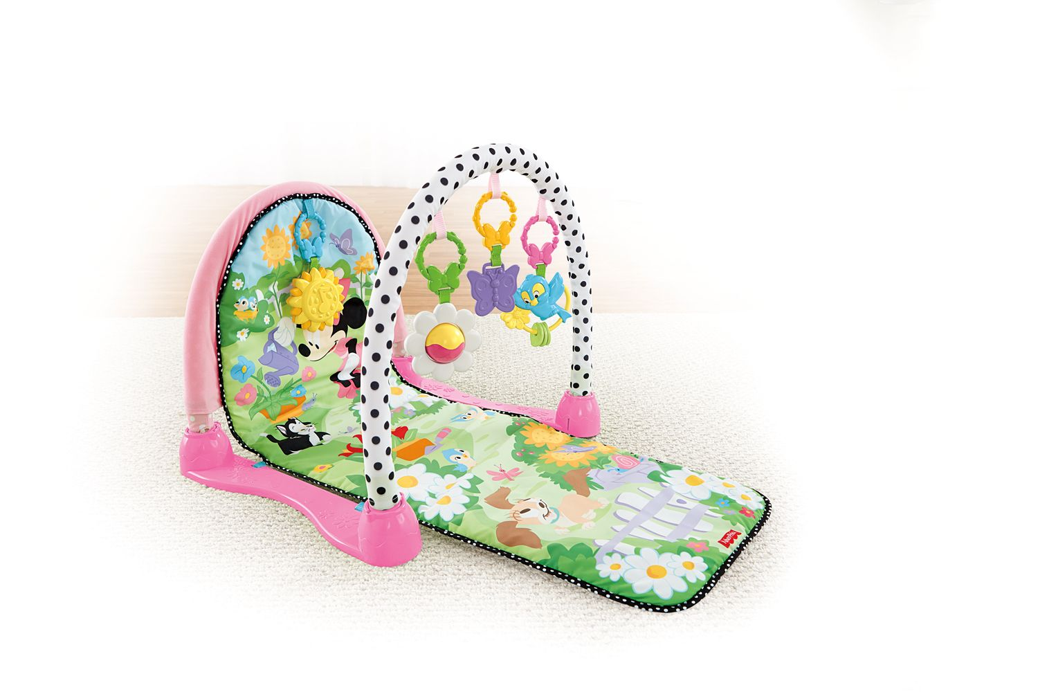 ea85cb7b3 MINNIE MOUSE Musical Garden Play Gym from Fisher-Price ...