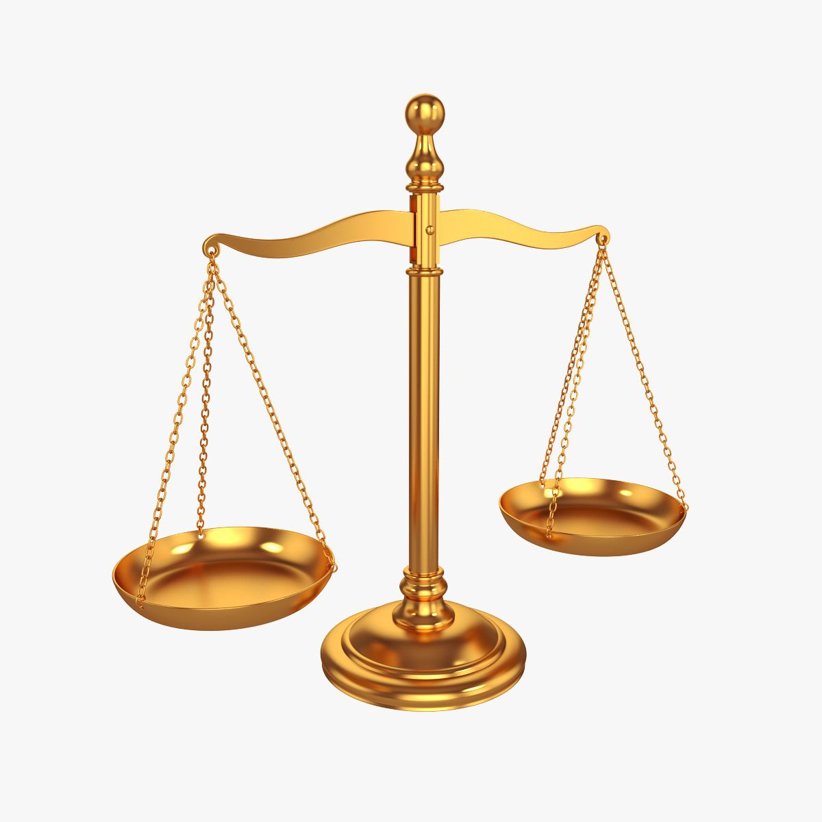 Scales Of Justice Justice Scale 3d Model Justice
