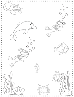 Crazy Speech World: Some Thoughts & Ocean Animals {Freebie