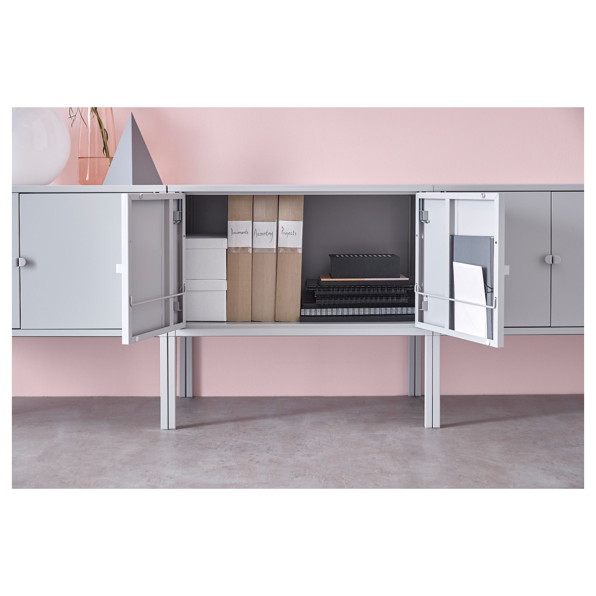 IKEA - LIXHULT Cabinet Metal, Gray