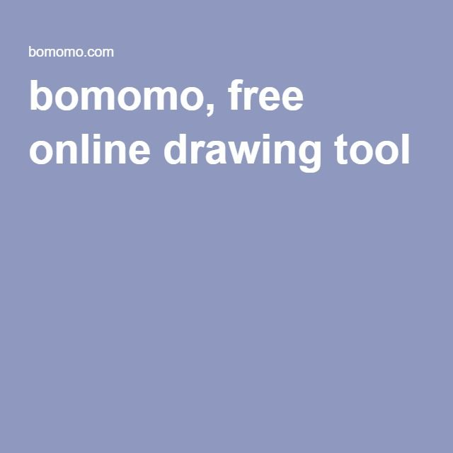 bomomo, free online drawing tool | School: Art Drama Music Resources ...