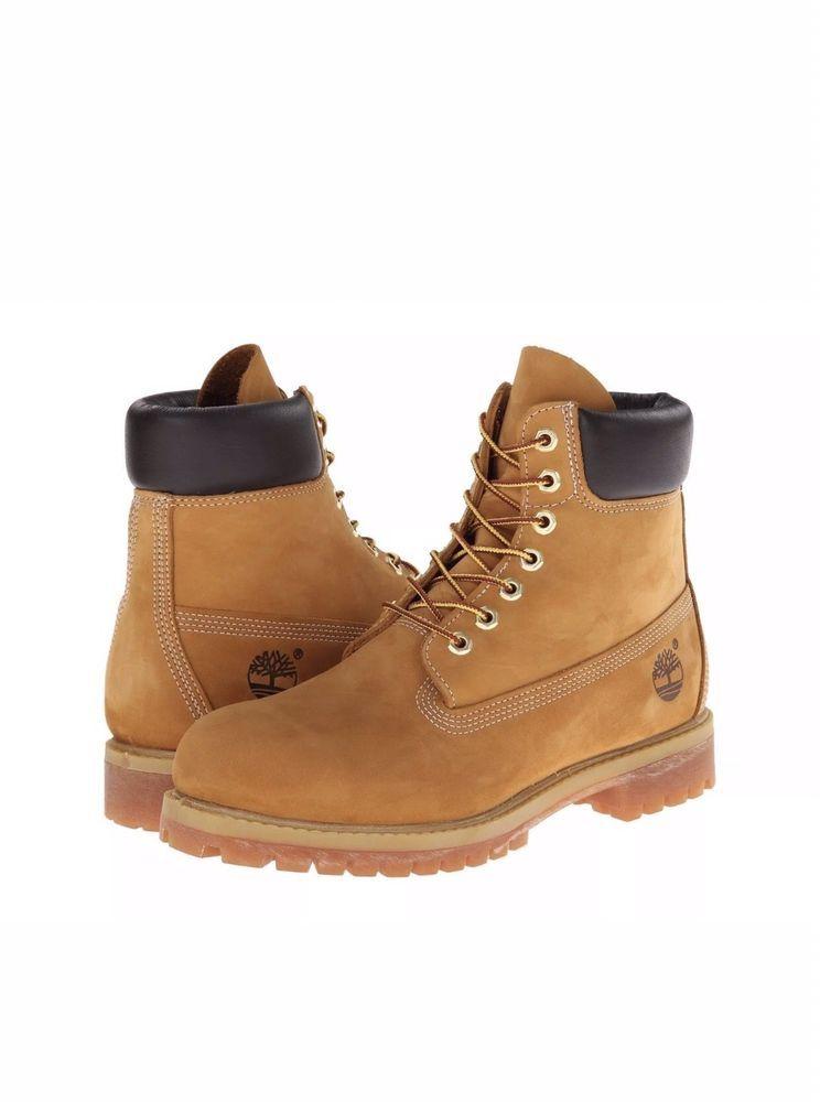 Timberland Men's Boots Shoes 6 Inch Premium Waterproof 10061