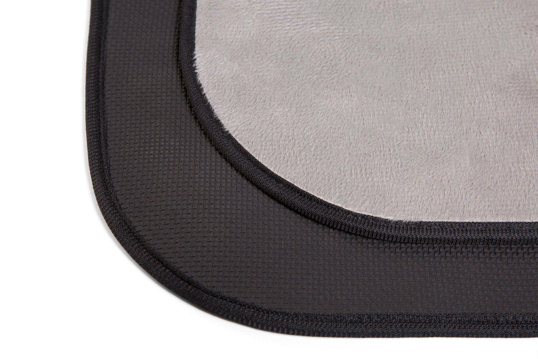 SILOKO NonSlip Washable Soft Flannel Bath Mat 20Inch by