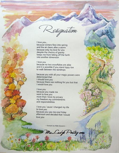 Resignation (partial) Nikki Giovanni) Poet Nikki Giovanni ...