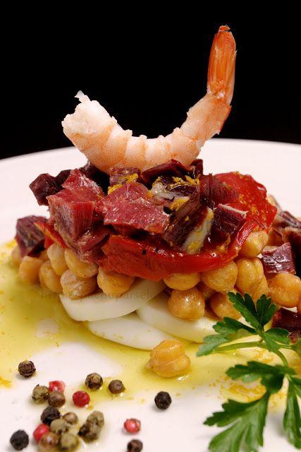 ¡¡Oído cocina!!: Ensalada Andalucía con toque de pimienta y aroma d...