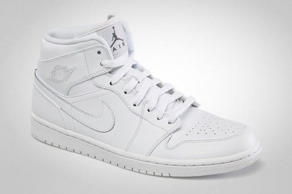 jordan retro 1 all white