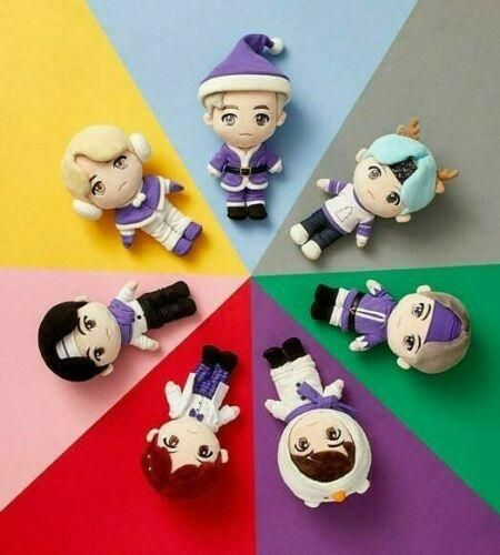 Photo of Official BTS x TinyTAN Christmas Plush Doll (Limited Edition) – Jin