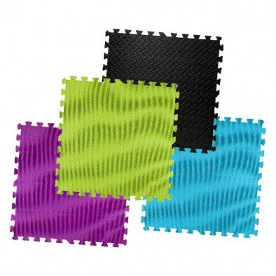 3 Interlocking Foam Tiles In Teen Colors At Five Below