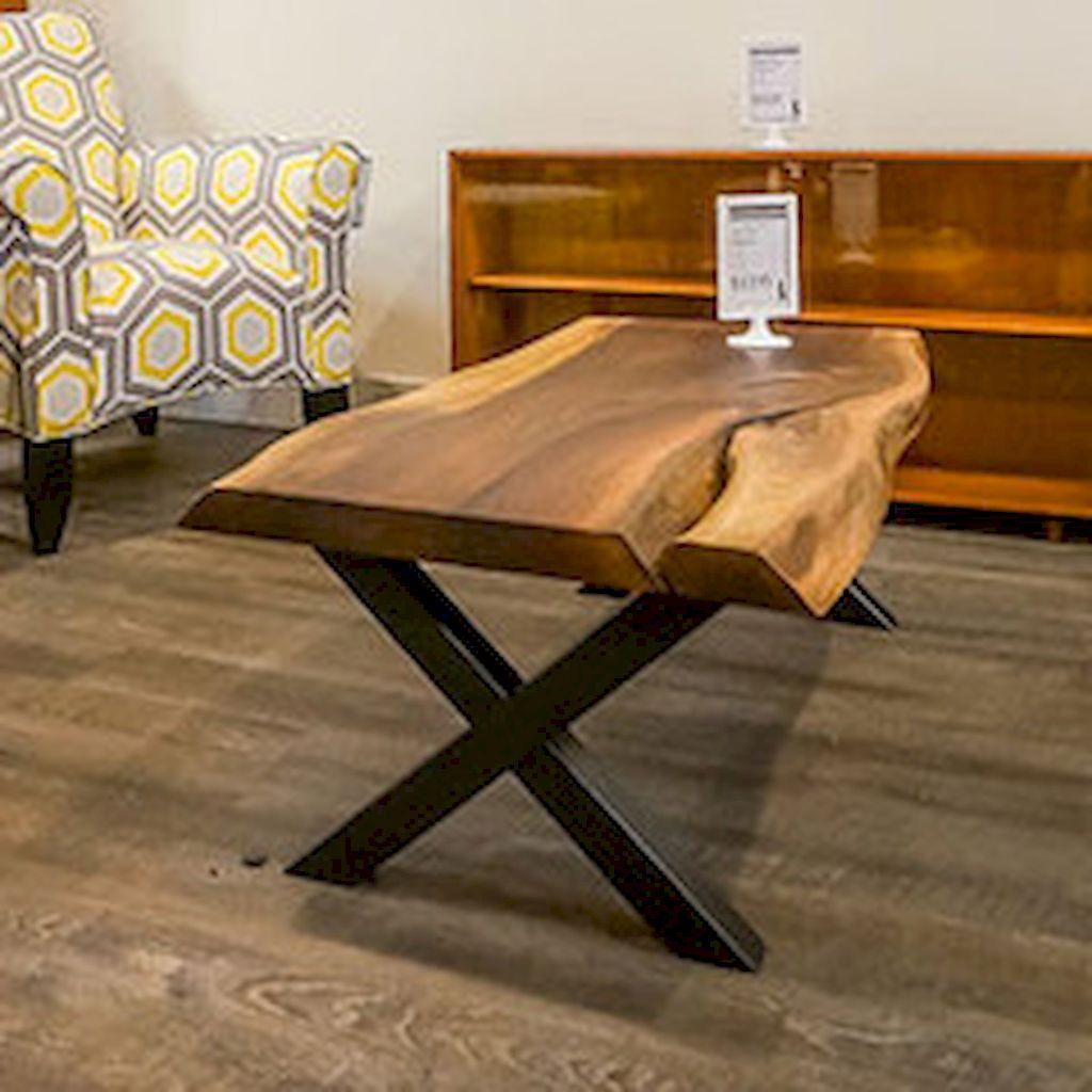 75 diy wood slab coffee table ideas roomodeling live