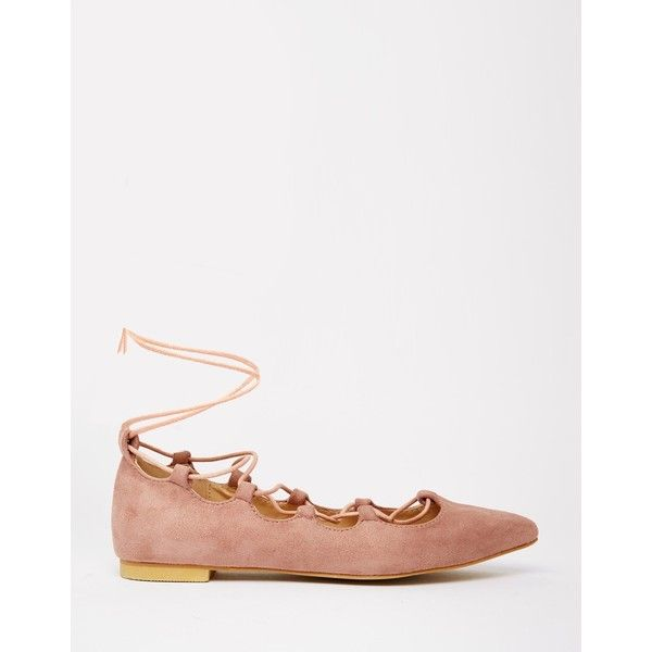 Sale Manchester Great Sale Pointed Flat Shoes in Pink - Pink Glamorous Cheap Footlocker Sale Cost Cheap Price Top Quality Top Quality ZpVWyaQsKB