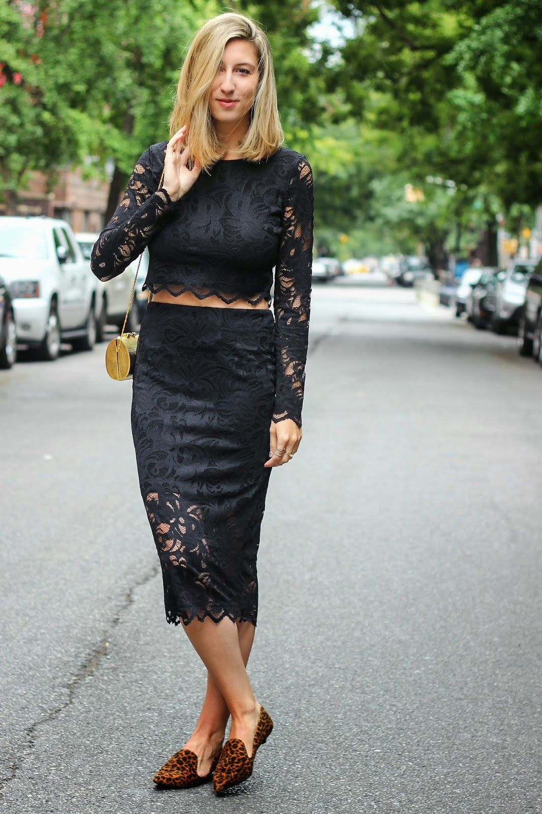 Darling Two// lace on lace @hm