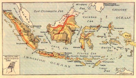 Indonesia vintage Nederlands Indie Dutch East Indies