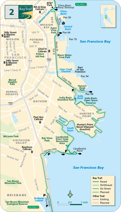 San Francisco Southern Waterfront Francisco, San, Kings park