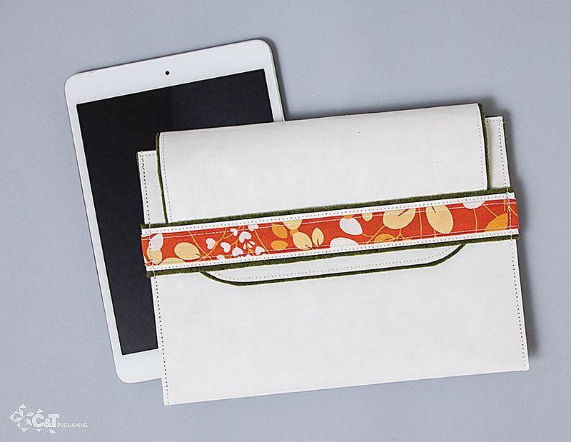eReader Case made with kraft•tex™ white | Flickr - Photo Sharing!