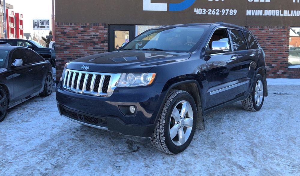 2012 Jeep Grand Cherokee Used Cars Calgary Double L Motors