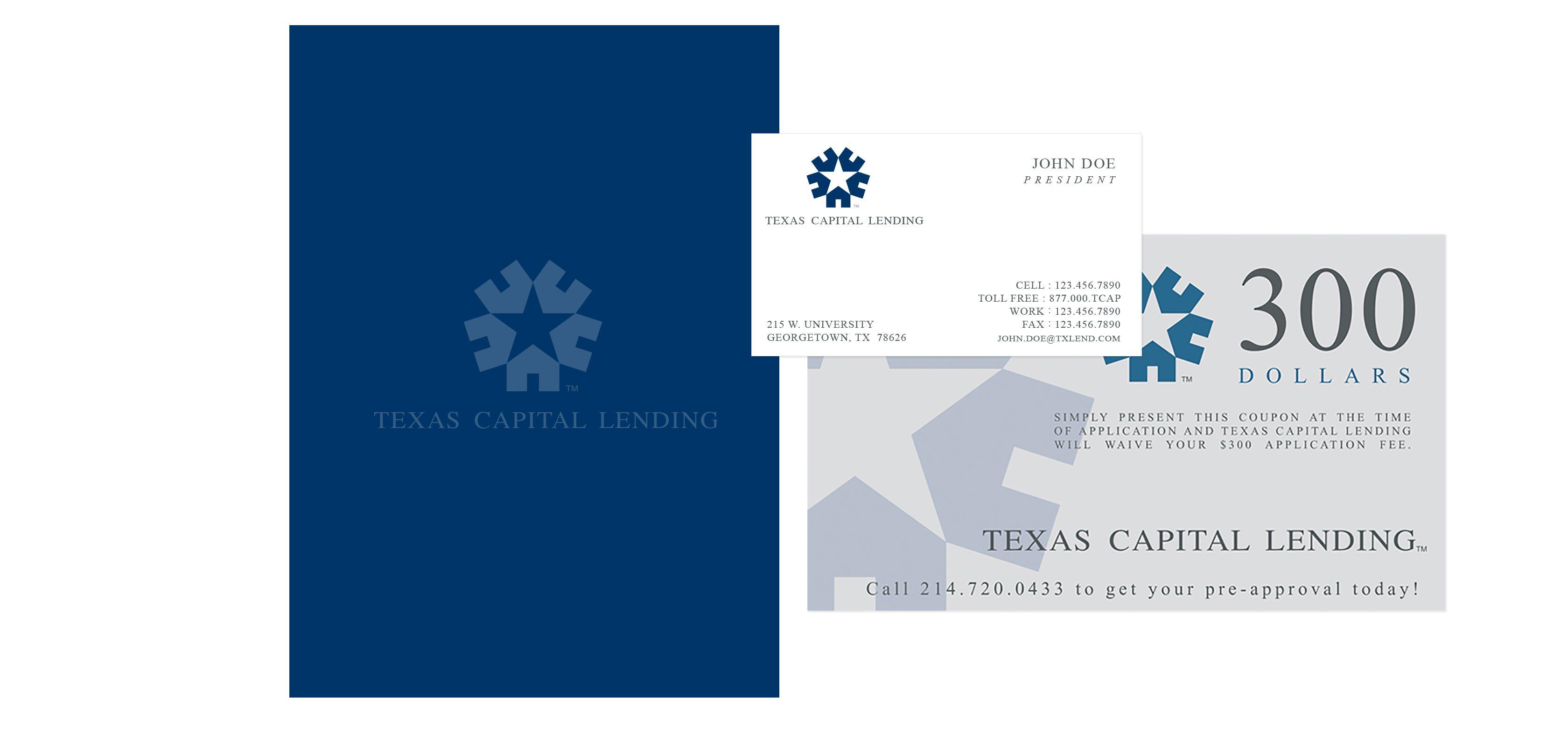 Texas Capital Lending Services Branding The Old State Branding Agency Branding Texas