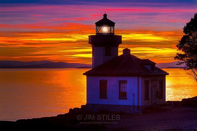 San Juan Island sunset - Photo: Jim Stiles