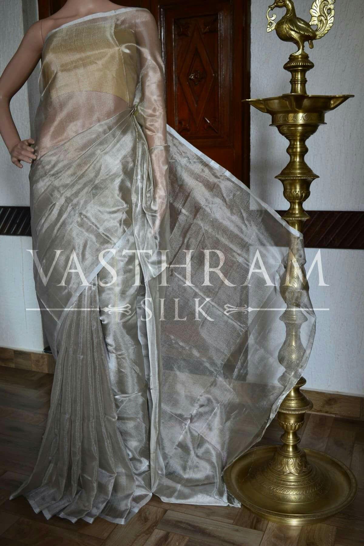 Tissue silk saree tissue uppada silk saree codejus cost inr weight