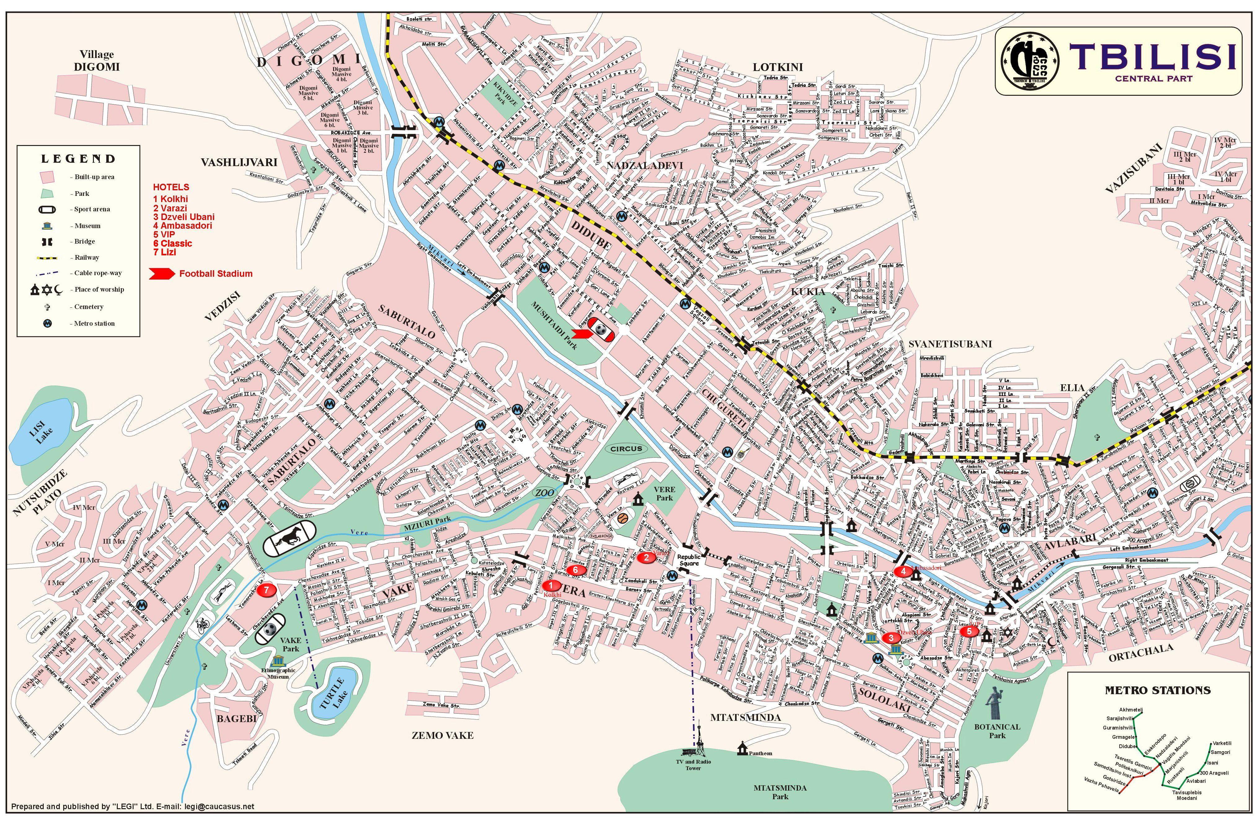 Tbilisi Georgia Map Tbilisi Tourist Map   Tbilisi Georgia • mappery | Armenia, Georgia
