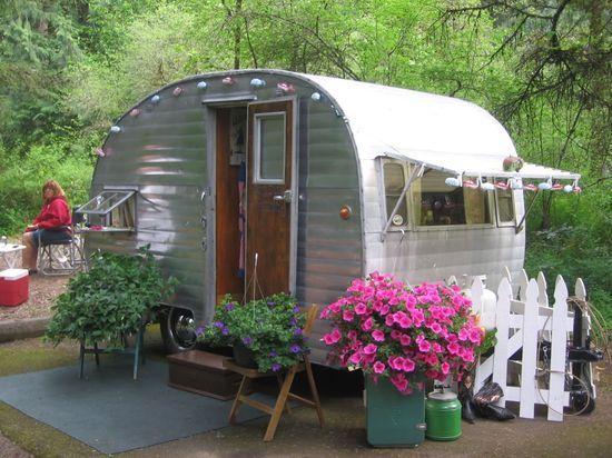 home sweet camping vintage caravane vintage caravane deco