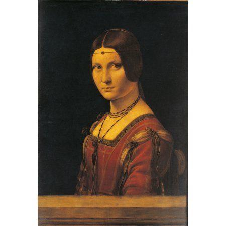 Portrait Of A Lady La Belle Ferronire Canvas Art 18 X 24