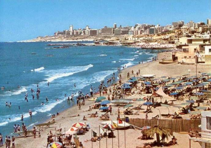 Ouzai 1960s Lebanon Beaches Beirut Mediterranean Sea North Africa Cyprus