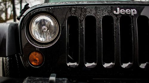 Jeep TJ Grille and Headlamp art