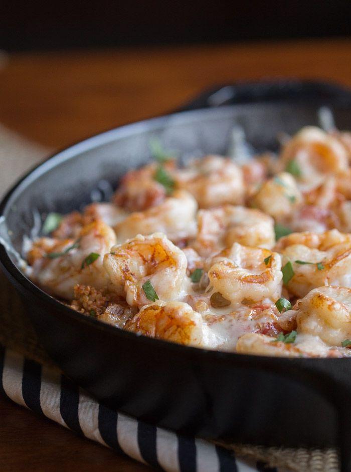 Cajun Shrimp and Quinoa Casserole [made]