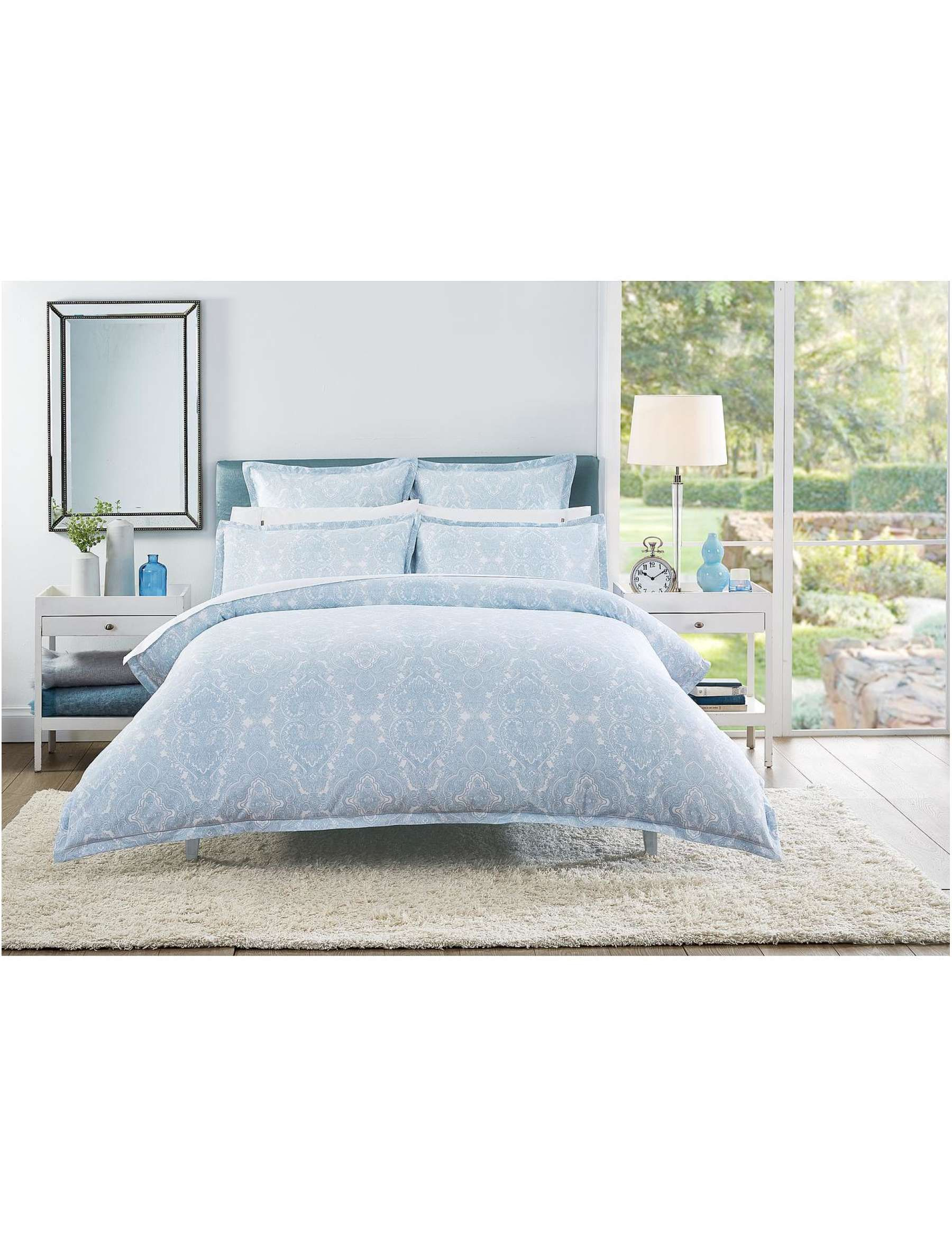 Good David Jones   Cotton House NINEVAH DOUBLE BED QUILT COVER
