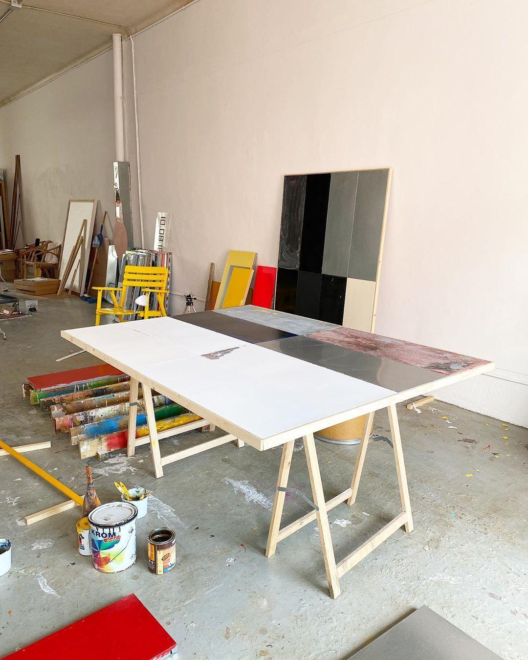 "Bruno Ollé on Instagram: ""#studio #contemporaryartpainting #contemporaryart #studiolife #elmasnou #covid_19 #brunoolle"""