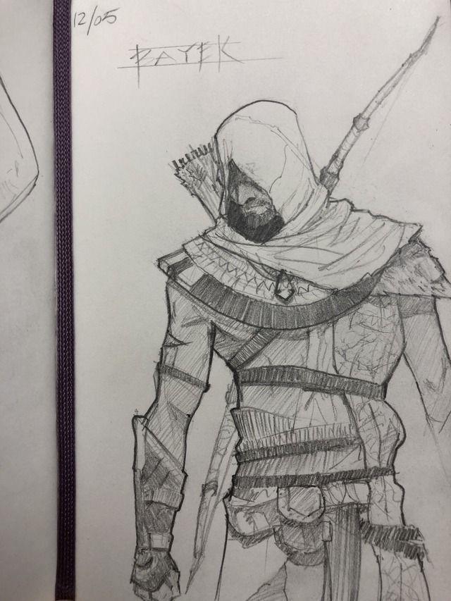 Bayek Ac Origins Assassins Creed Artwork Assassins Creed