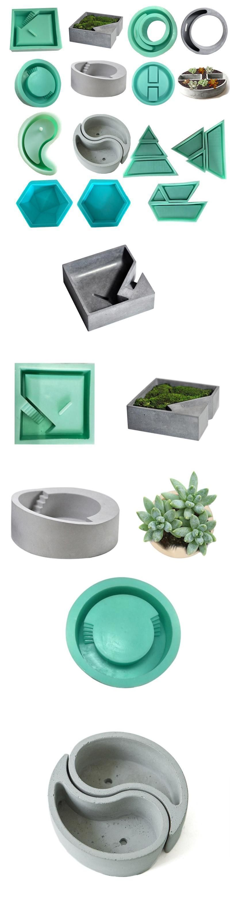 Soap Molds 28116 Craft Clay Vase Cactus Planter Mold