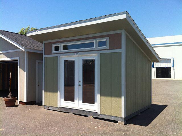 Premier PRO Studio Modern by TUFF SHED Storage Buildings Garages