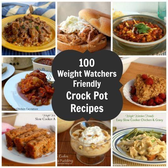 Weight Watchers Crock Pot Ideas: 100 WW Crock Pot Recipes Freestyle SmartPoints