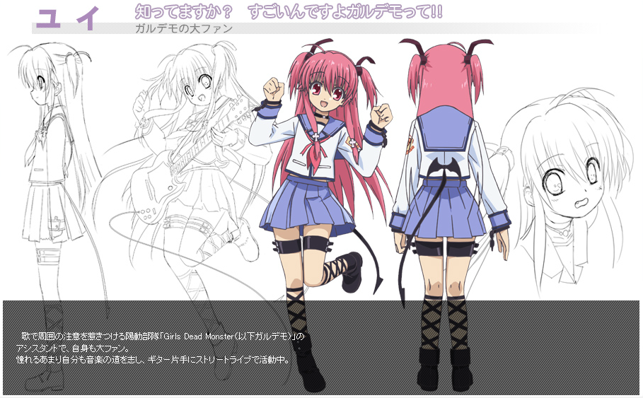 Photo Yui Anime Characters Database in 2020 Anime