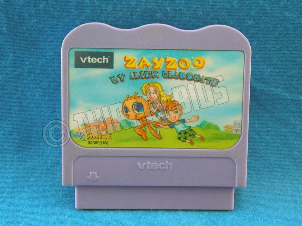 Vtech Vsmile Pocket Zayzoo My Alien Classmate Video Game Cartridge Tested Vtech Video Game Games