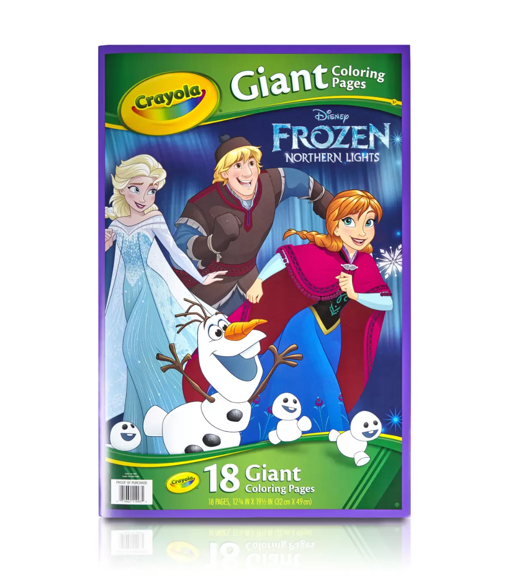 Disney Frozen Giant Coloring Book | Coloring Pages For Kids