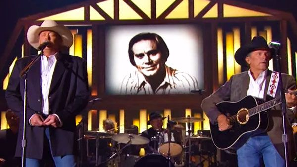 Alan Jackson And George Strait He Stopped Loving Her Today