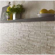 Florence Oyster Split Face Wall Tile 8 Pack At Homebase Co Uk