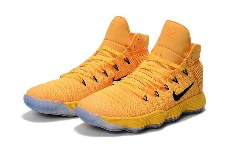 pretty nice 68c83 b71fc Authentic New Hyperdunk 2017 Flyknit React Sonic Yellow Hyper Maize Mens Basketball  Shoes 2018 For Sale