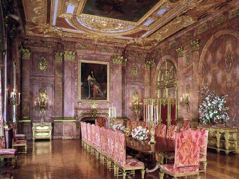 Marble House In Newport, Rhode Island   Dining Rooml