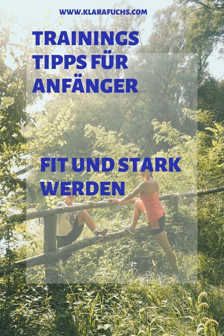 Motivation Monday - Tipps für Anfäger #Training - Klara Fuchs