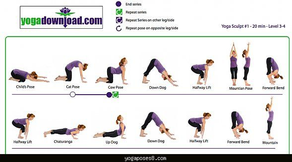 Cool Easy Yoga Routine To Do At Home