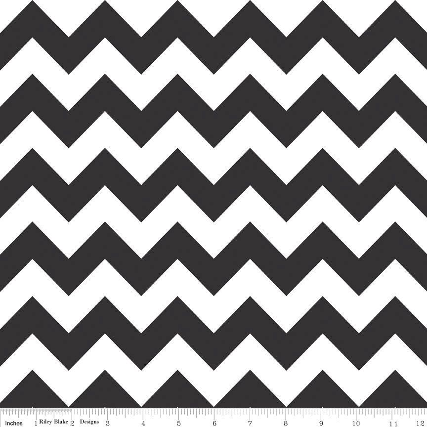 Magnificent Black And Grey Chevron Fabric Gallery - Bathroom with ...