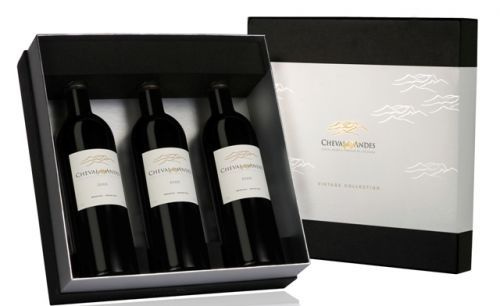 The Cheval Des Andes Vintage Wine Gift Box Contains The 1999
