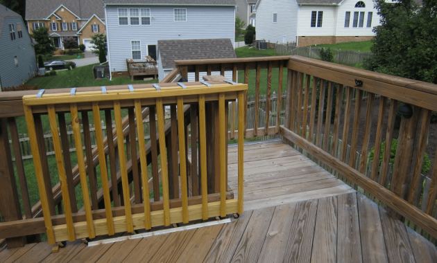 Wooden Porch Gate Porch Gate Deck Gate Building A Deck