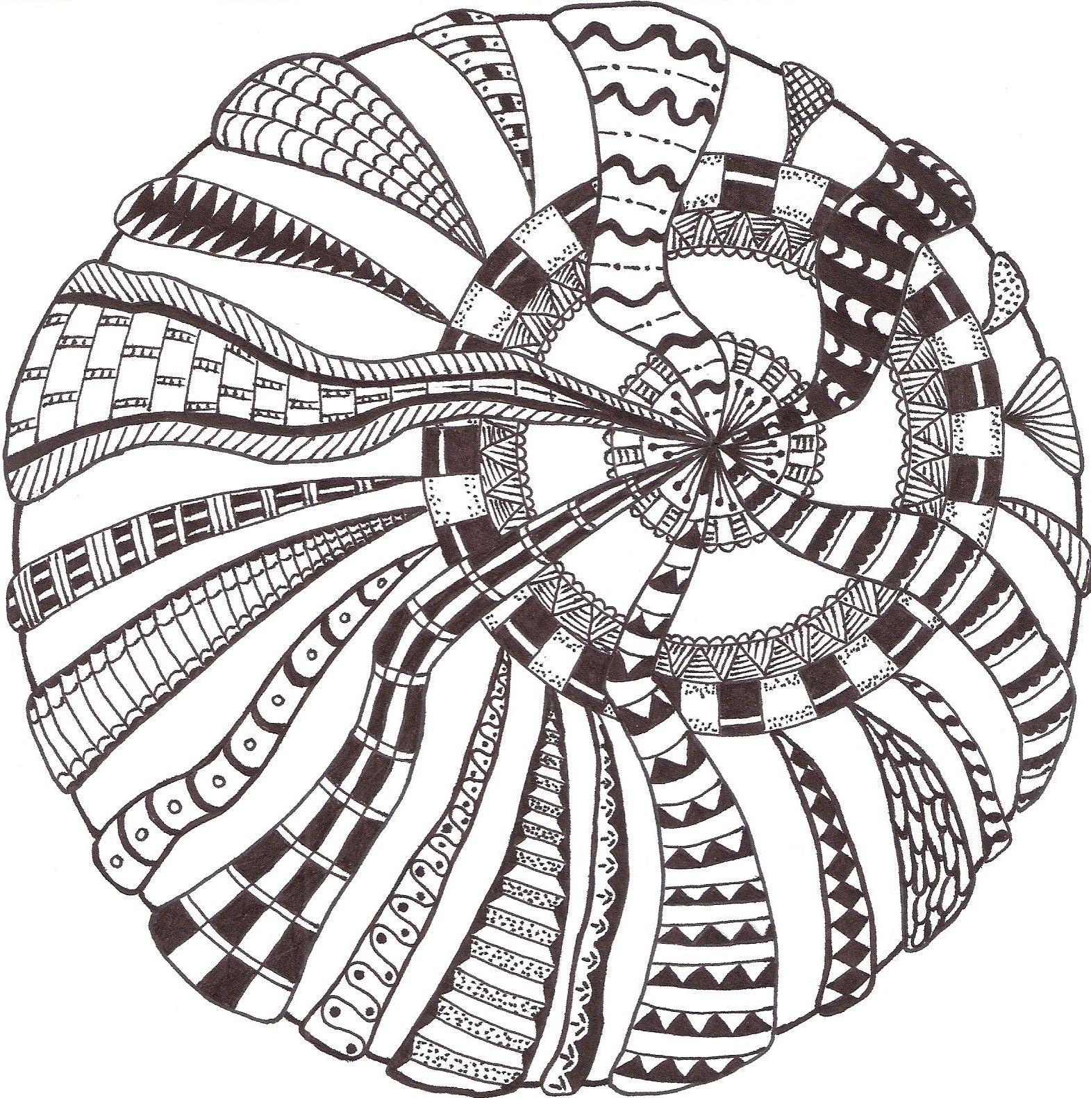 zentangle made by mariska den boer 10 schwarz wei muster zentangle malen und zeichnen und. Black Bedroom Furniture Sets. Home Design Ideas